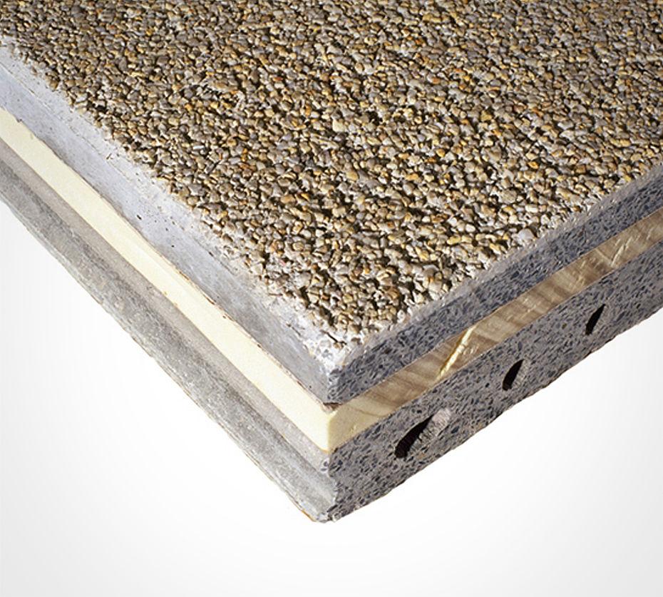 сэндвич панели бетон