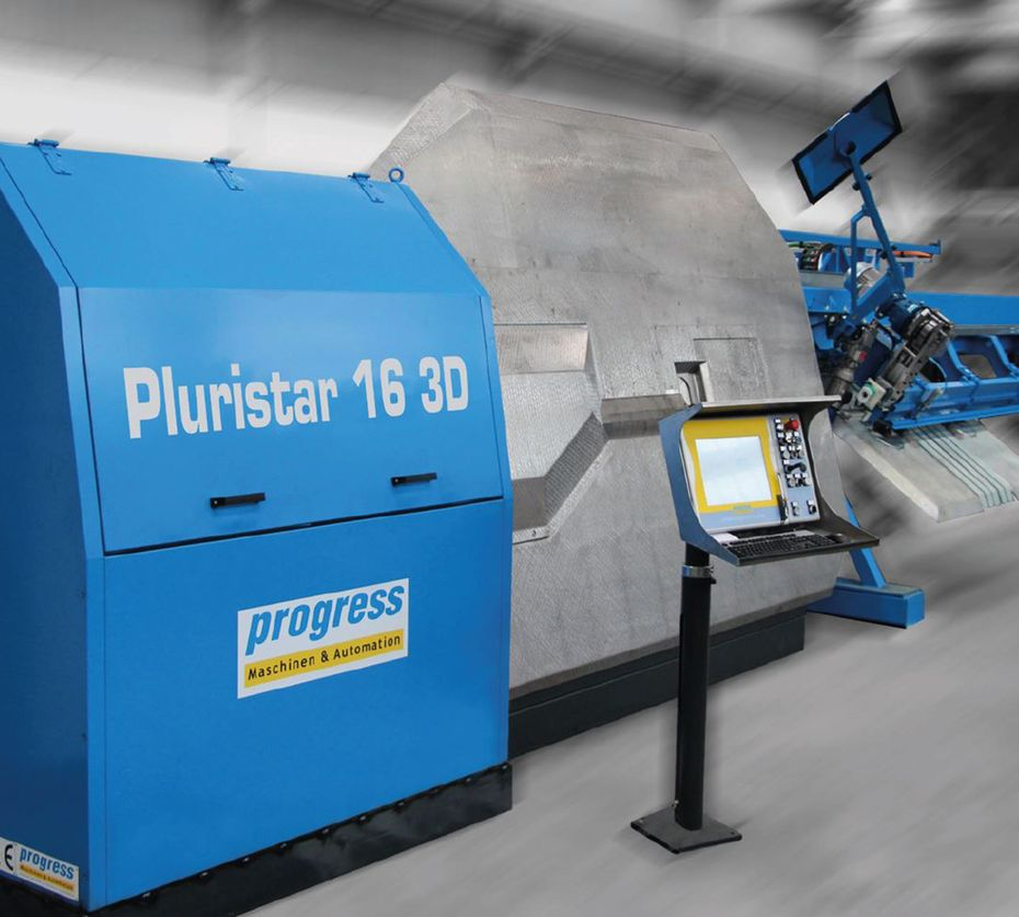 Automatic stirrup bender and straightening machine in one – Pluristar